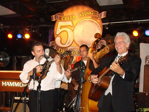 on stage after party | by delmccouryband
