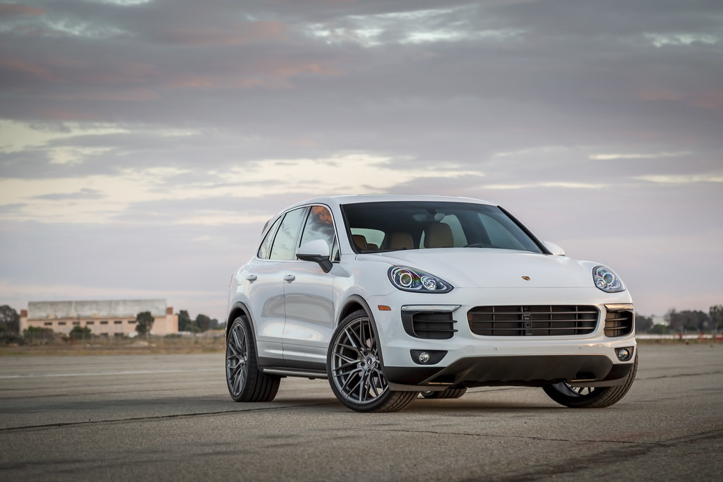 Porsche Cayenne On Vorsteiner V Ff 107 Wheels Pro Flickr