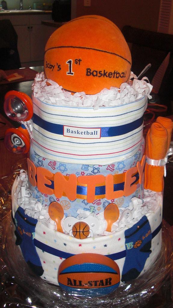 Diaper Cake Basketball