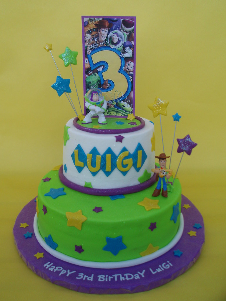 toy story cake story 3 buzz and woody birthday cake the title says 8037