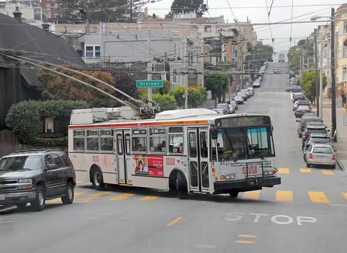 Trolleys San San Francisco Trolley Bus