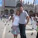 Newlyweds on Honeymoon: Jennifer Boresz, BA '04, with husband Brian Engelking, BSME '03 in Venice