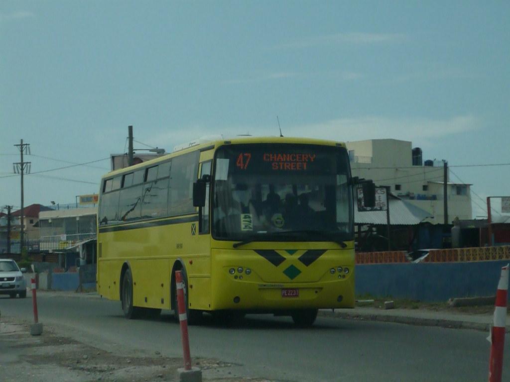 Jamaica-Volvo VDL Jonckheere Bus(Jamaican Urban Transit Co ...