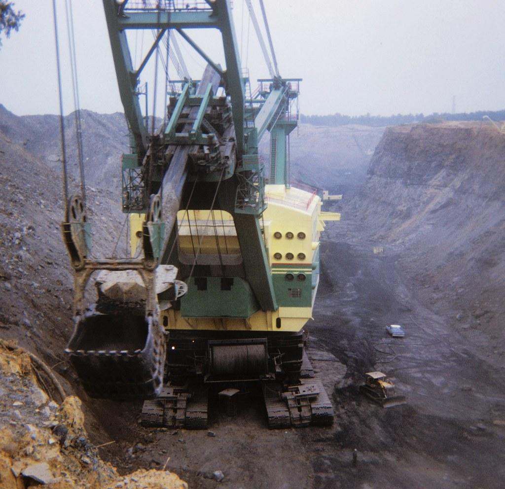 Sinclair Coal Mine - Kentucky - 3850 Shovel