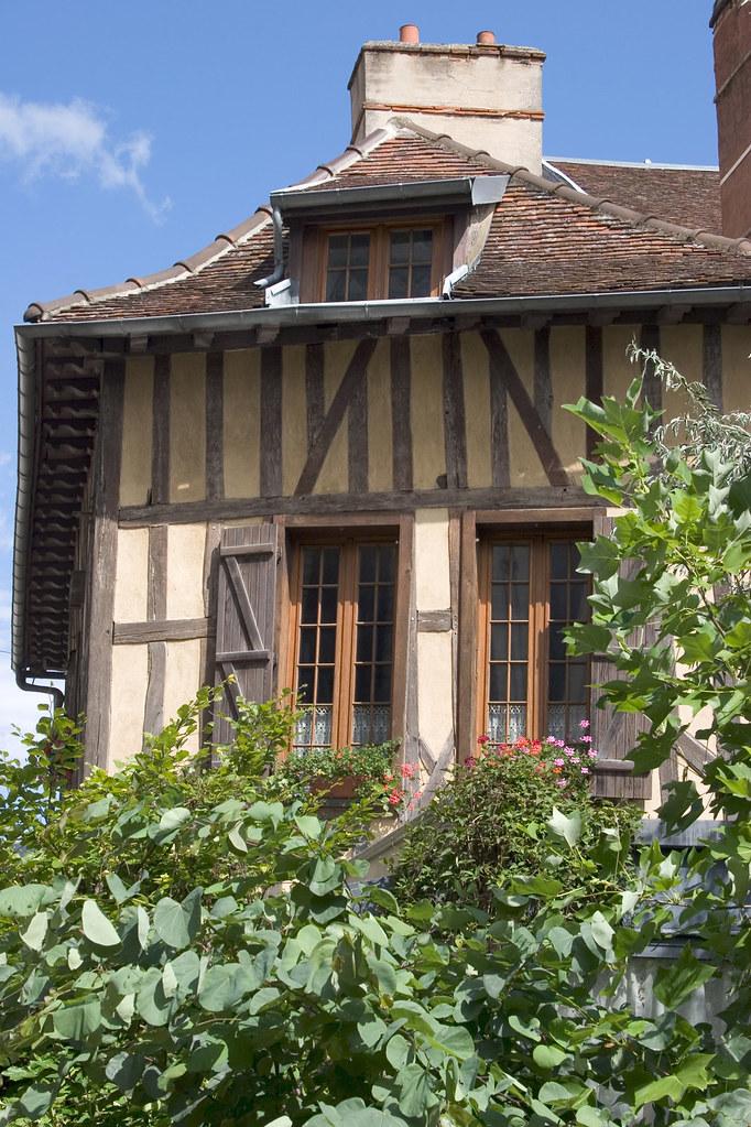 Troyes maisons en pans de bois aube champagne flickr for Maison bois troyes