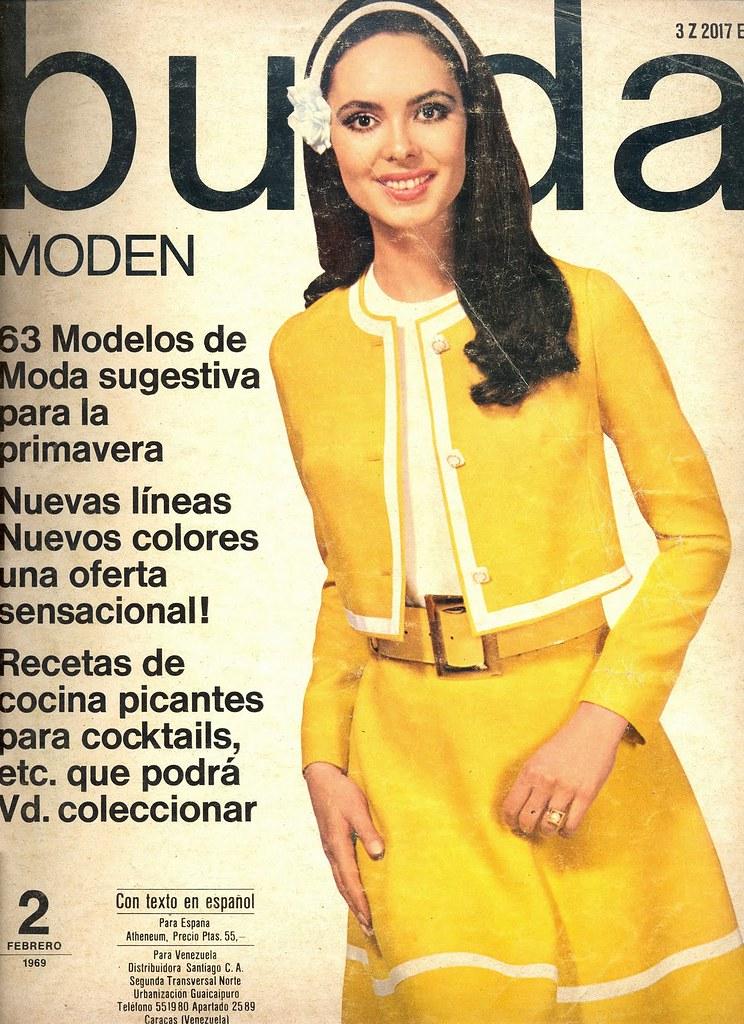 Burda february 1967 german fashion magazine burda moden Revista fashion style magazine