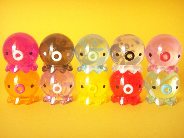 Popular Toys Cute : Cute good luck takochu acrylic clear octopus toys new colo