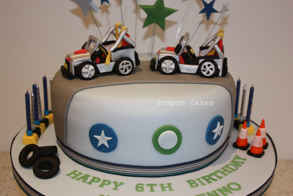 Jeep birthday cake This was for two little boys who were ...