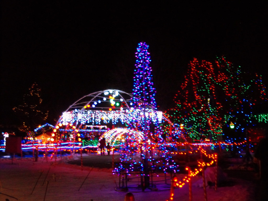 Rotary Winter Wonderland Christmas Lights Marshfield, Wisc… | Flickr
