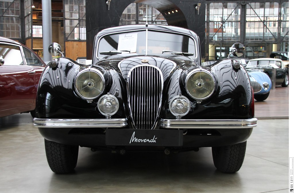 1948 Jaguar XK 120 (06)   The XK120 was launched in ...
