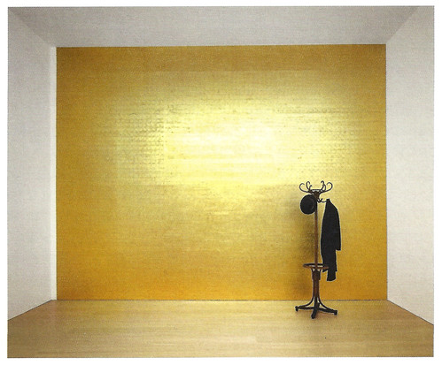 Jannis kounellis civil tragedy 1975 2006 flickr - Peinture murale beige dore ...