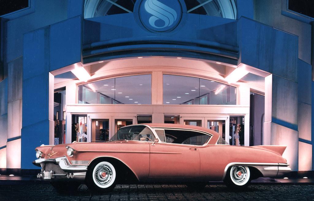 1957 cadillac eldorado 2 door hardtop general motors for General motors annual report 2010