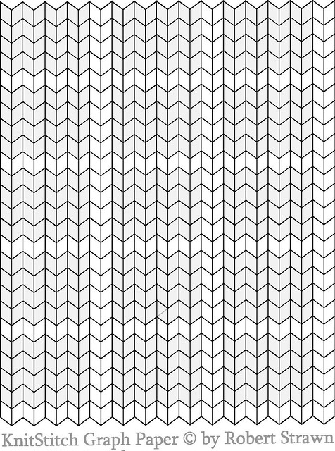 Knitting Pattern Grid Paper : knit stitch Graph Paper small without ginger bunny dot com Flickr - Photo S...