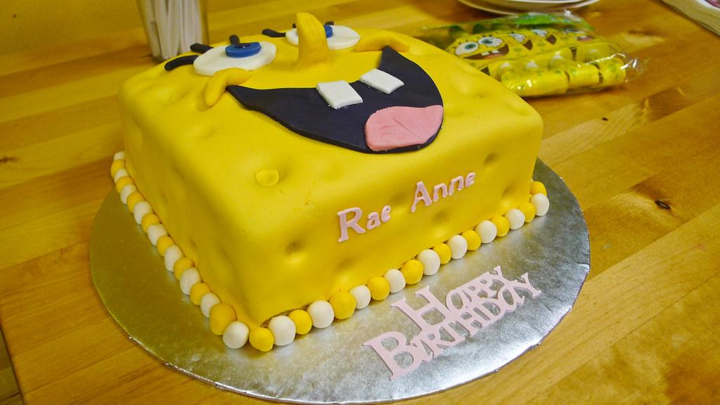 Spongebob Birthday Cake Asda