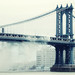 Plowing the Manhattan Bridge, New York City