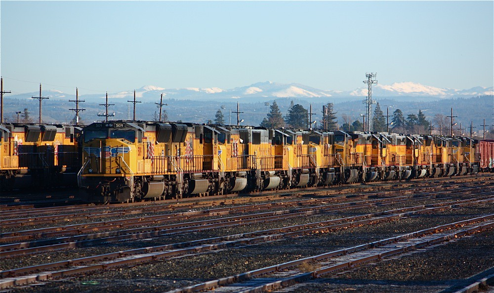 Union Pacific Locomotives Roseville Ca Jake Miille
