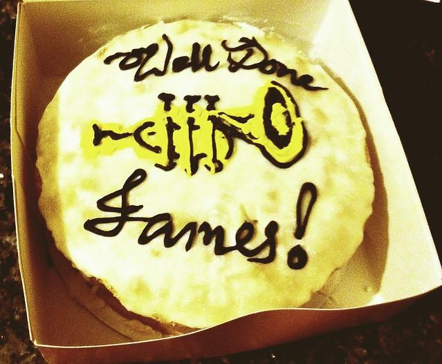Birthday Cake Hamilton Miranda
