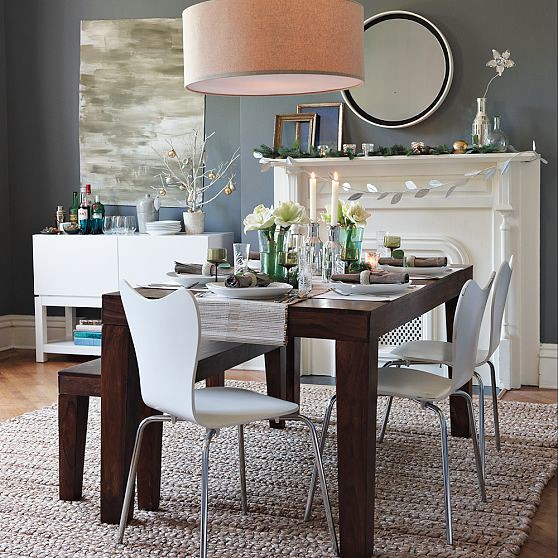 West Elm Rustic Kitchen Table: West Elm's New Look - Dining Room