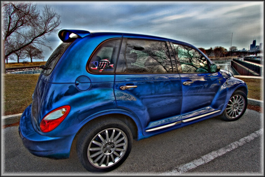 chrysler pt cruiser hdr luv my car i 39 m obsessed with my th flickr. Black Bedroom Furniture Sets. Home Design Ideas