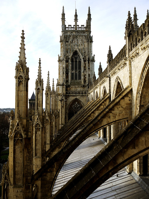 Flying Buttress Minster Flying Buttress