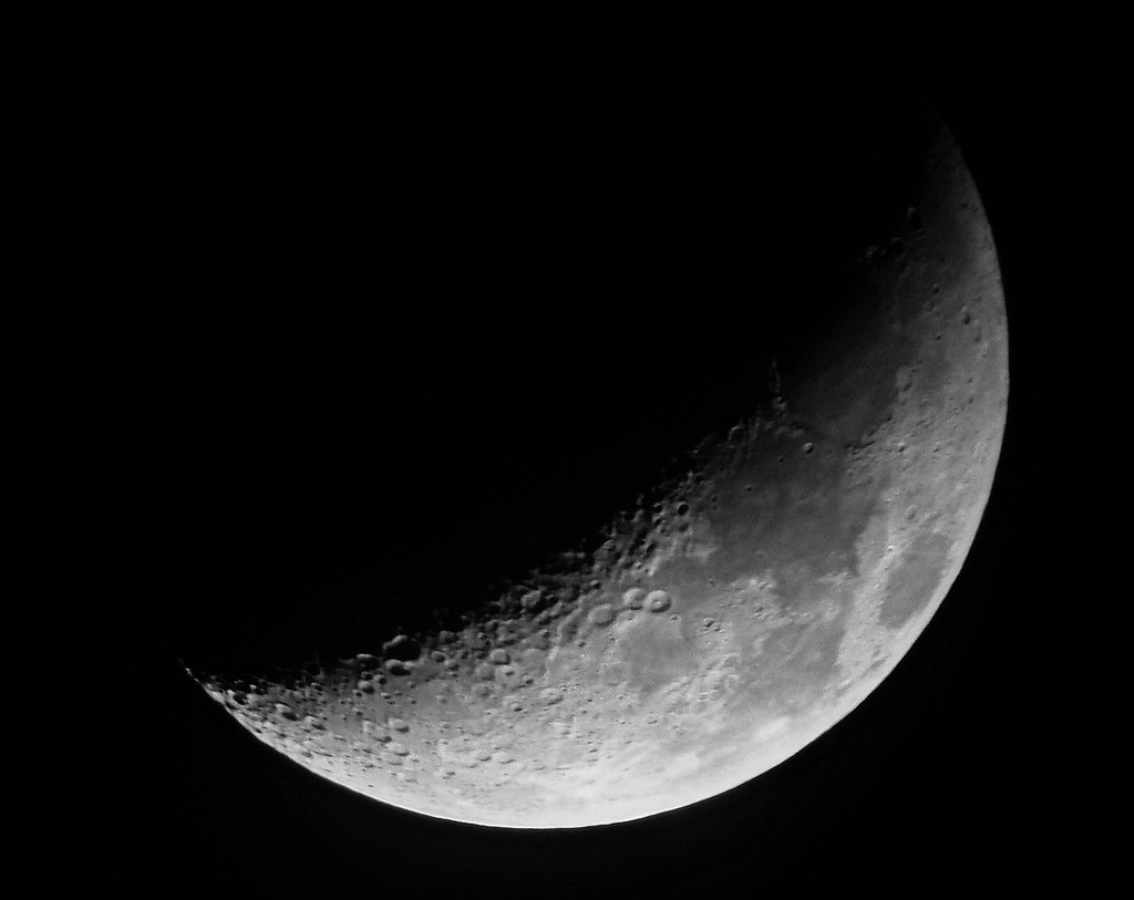Como hacer fotos de la luna luna creciente www Estamos en luna menguante