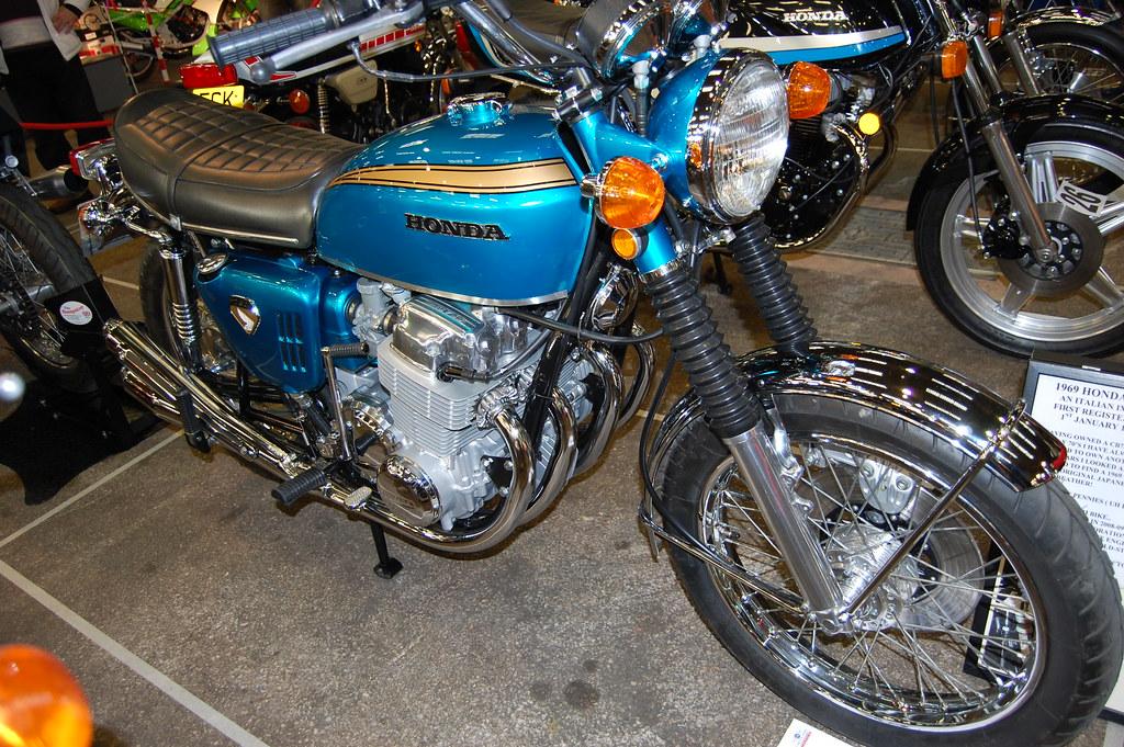 F Bab B B on Four Cylinder Motorcycle