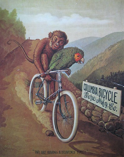 Vintage Bicycle Posters: Columbia Bicycle | by Mikael Colville-Andersen