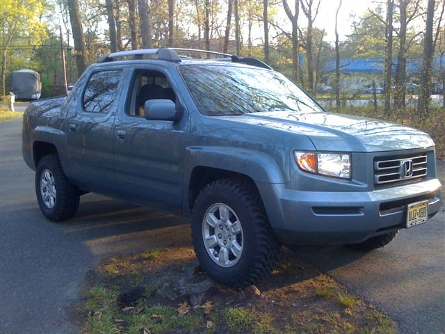 Image Result For Honda Ridgeline Lifted With Tires Rims