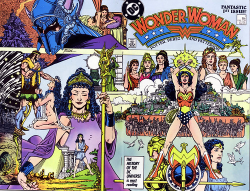 Image result for wonder woman post crisis