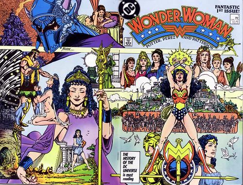Image result for wonder woman post crisis