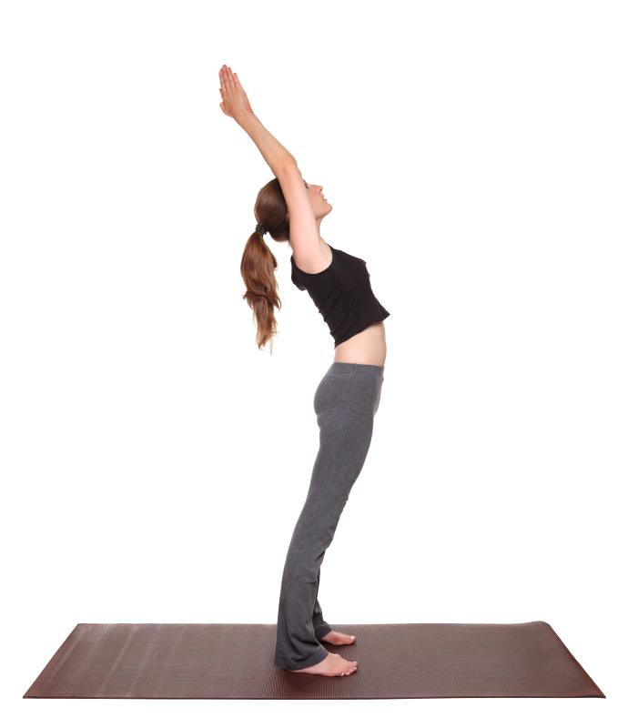 back bend yoga poses