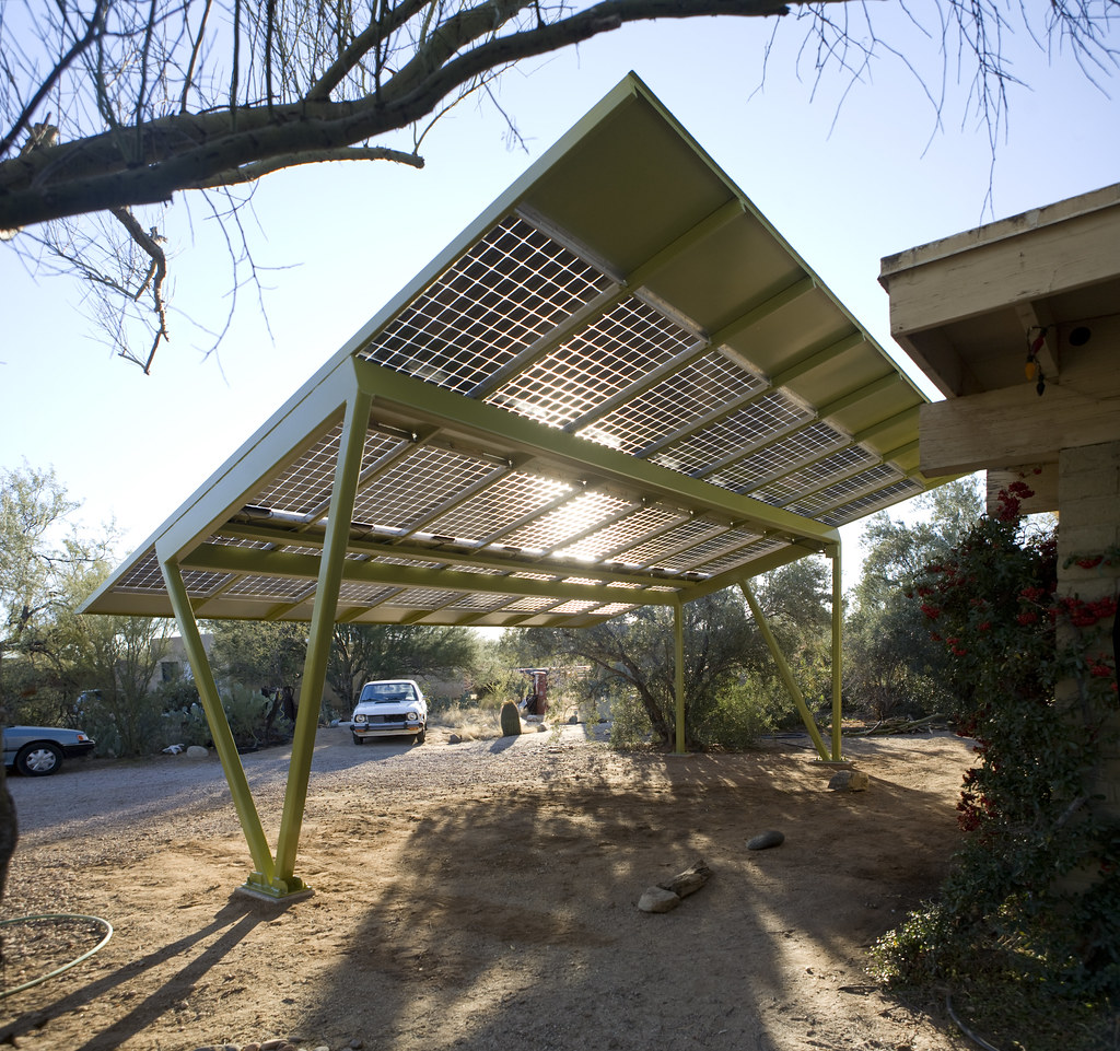 Image Result For Carport Under Modern House: New Solar Carport At My Parents