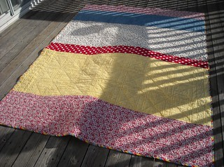 9-patch quilt back | by vickivictoria