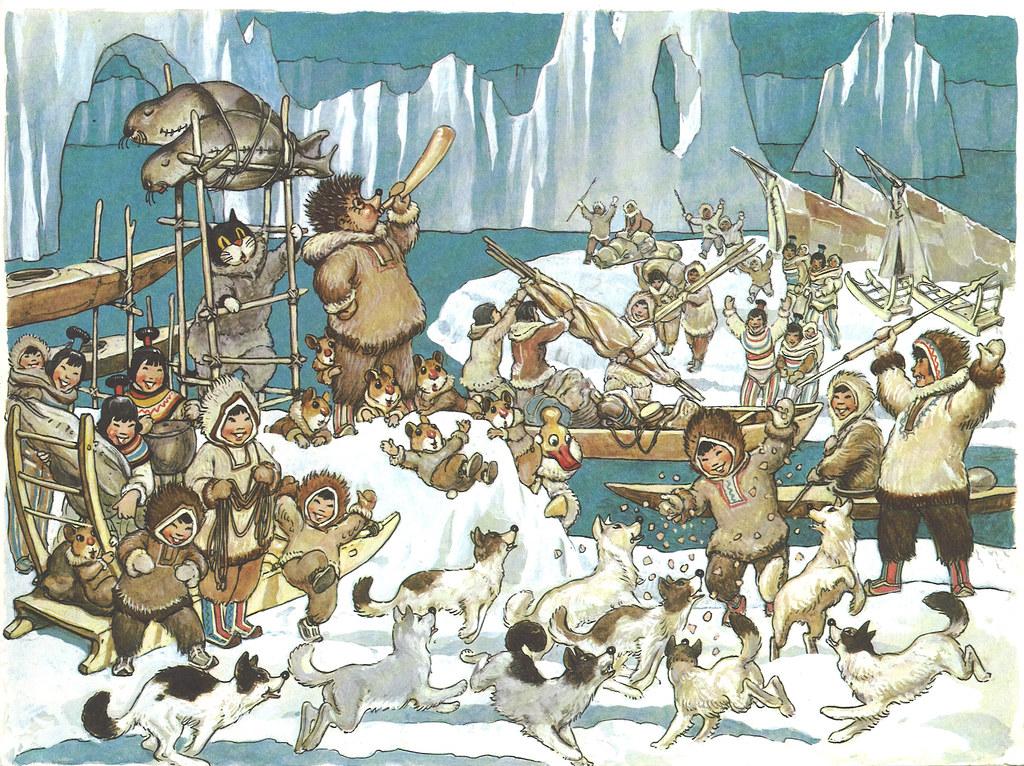 mecki bei den eskimos bild 10 mecki bei den eskimos