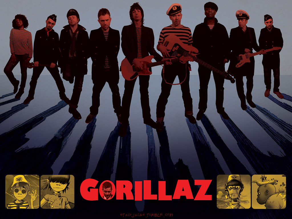 top 1000 wallpapers blog  gorillaz wallpapers timesquare