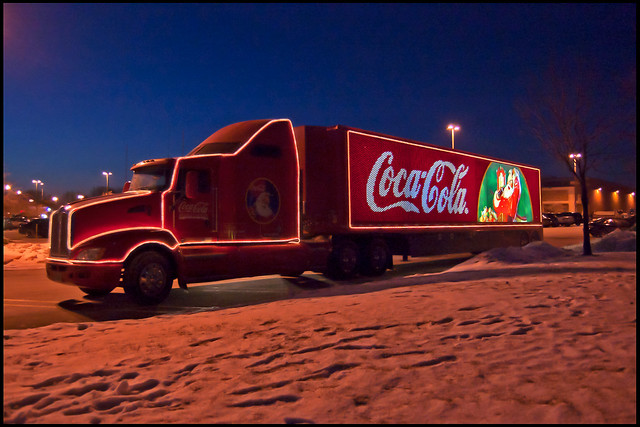 coca cola christmas truck 2 flickr photo sharing. Black Bedroom Furniture Sets. Home Design Ideas