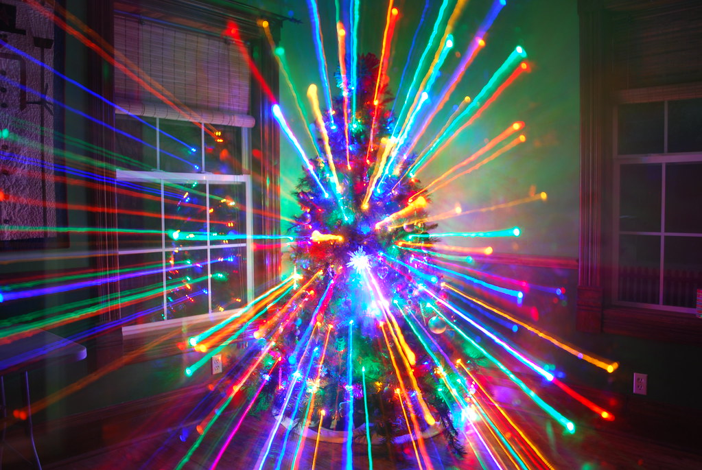 Christmas Lights Laser