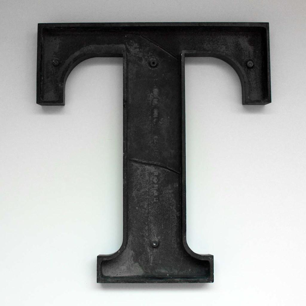 Letter T Large