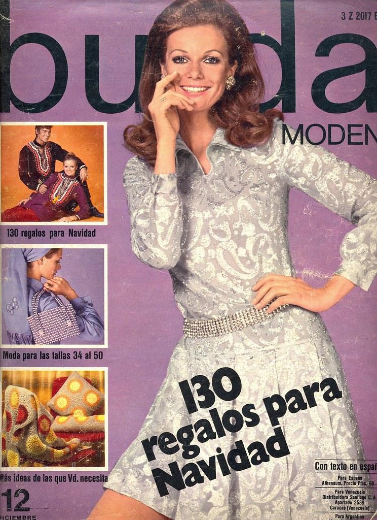 Burda December 1969 German Fashion Magazine Burda Moden De Fashion Covers Magazines Second