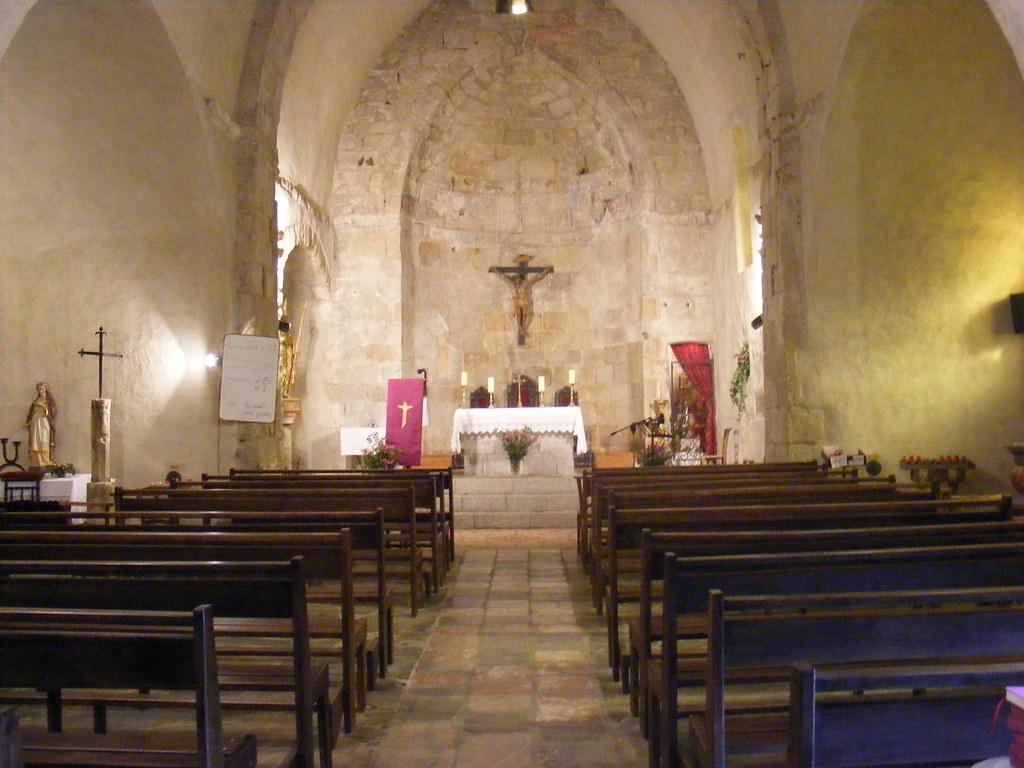 Eglise saint saturnin vernet les bains pyr n es oriental for Ot bains les bains