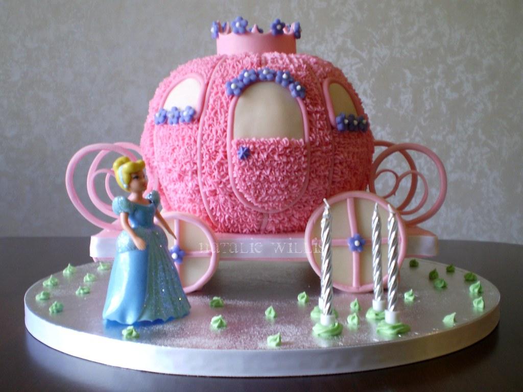 Disney Cinderella Carriage Cake images