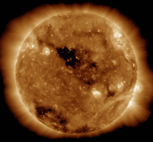 Holes in the Sun's Corona | by NASA Goddard Photo and Video