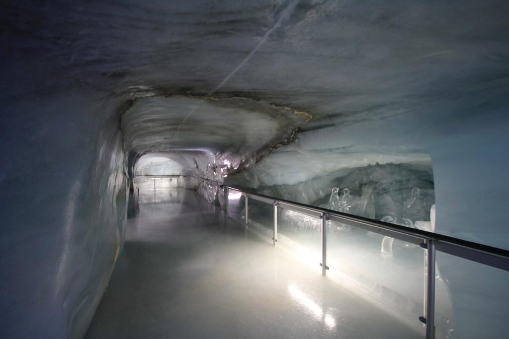 Eispalast auf dem jungfraujoch webcam