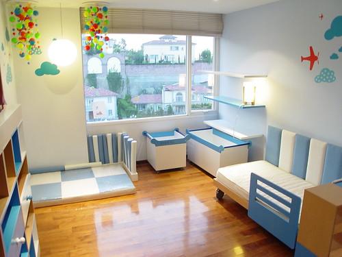 Habitacion infantil dise o y decoracion de cuartos - Muebles infantiles para habitaciones pequenas ...