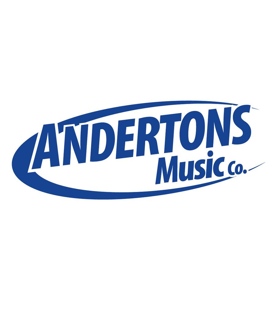 Andertons Music Logo Design