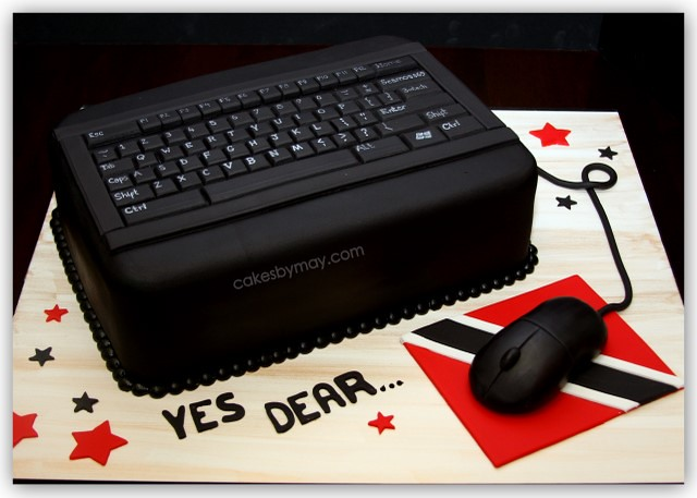 Computer Keyboard Groom s Cake This computer keyboard ...