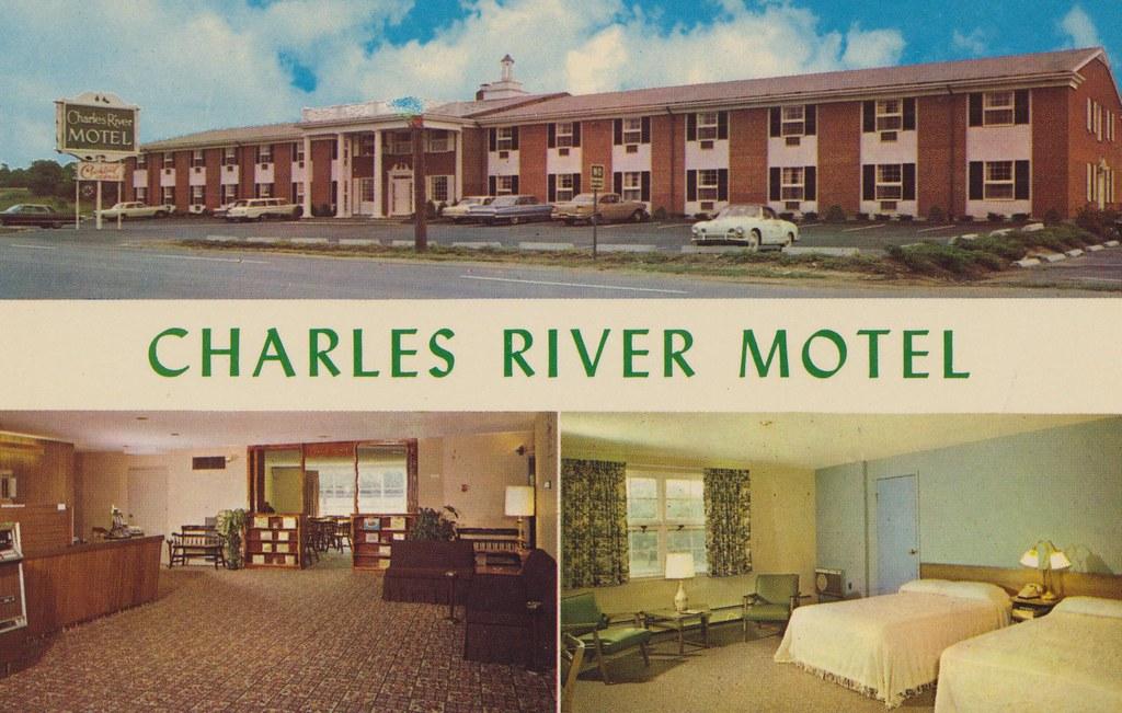 Charles River Motel Boston Massachusetts 1800