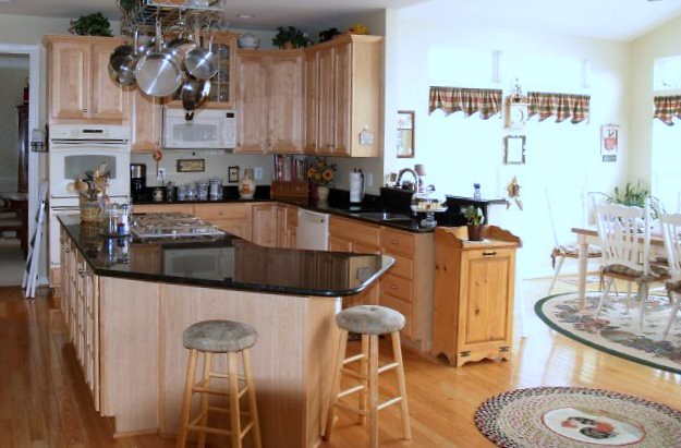 Kitchen with morning room addition hafer construction for Morning kitchen ideas