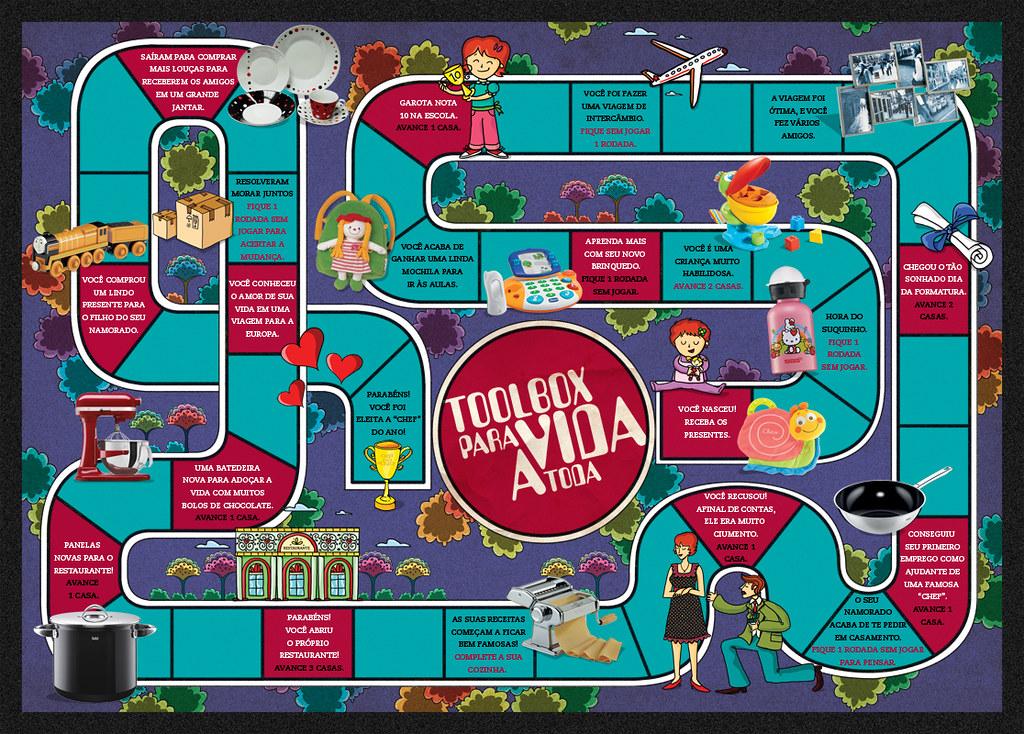 Frases De Jogo Da Vida: Ilustras Para A Campanha Nova Da Tool Box
