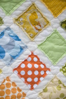 Comfy Baby Quilt | by Kristy @107 Quilts